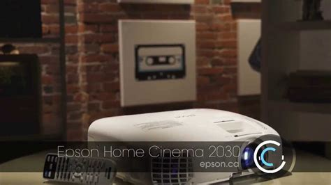 family with the epson powerlite home cinema 2030 hd