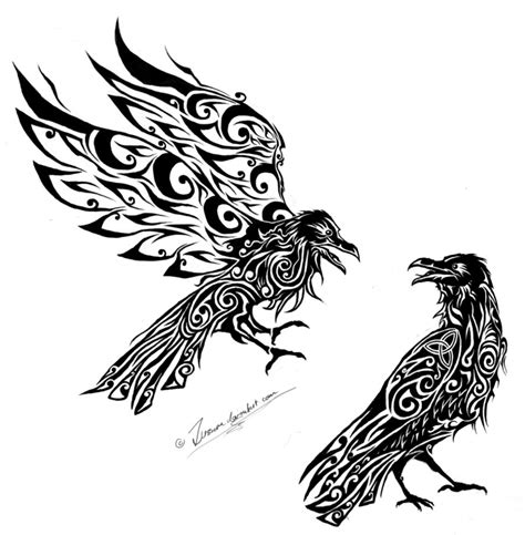 hugin and munin tattoo hugin and munin by zusacre on deviantart