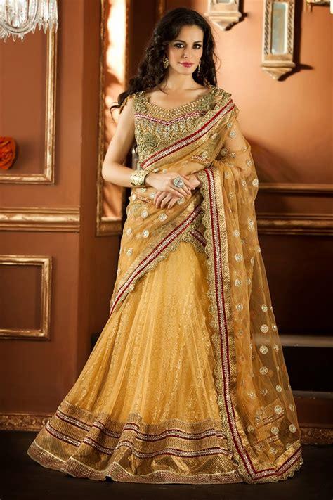 Designer Bridal Wear by هوليوود فور عرب Designer Bridal Wear Lehenga Choli