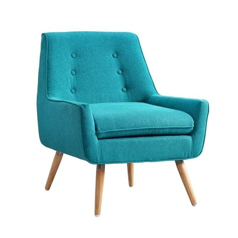 bright armchair accent chair in bright blue 368360mer01u