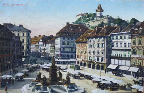 Postkarten Drucken Innsbruck by Graz Hauptplatz Alte Ansichtskarten Bilder Im Austria