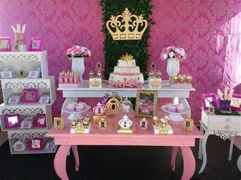 Decoração de Festa Coroa de Princesa   festa tema coroa