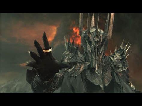 skyrim lotr sauron armor youtube
