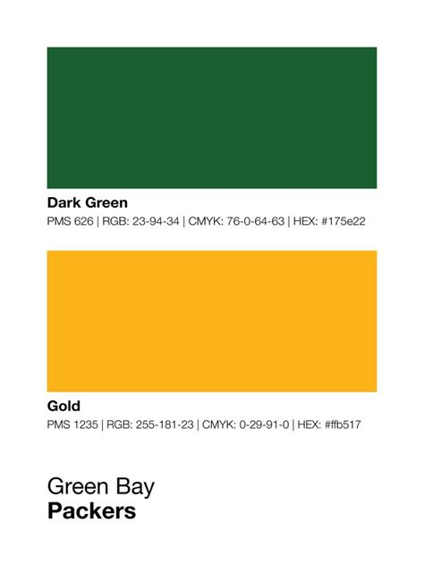 bay color green bay packers colors print sproutjam