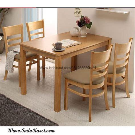 Meja Makan Kursi A set meja makan minimalis kursi jok indo kursi mebel