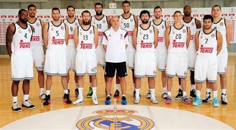 fotos real madrid baloncesto real madrid baloncesto 2015 el mejor a 241 o de la historia