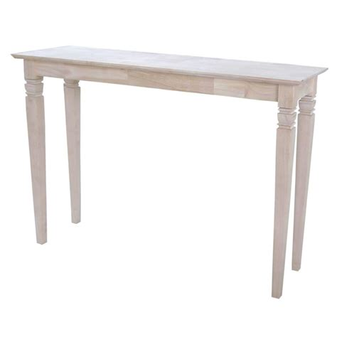 Unfinished Sofa Tables International Concepts Java Unfinished Console Table Ot