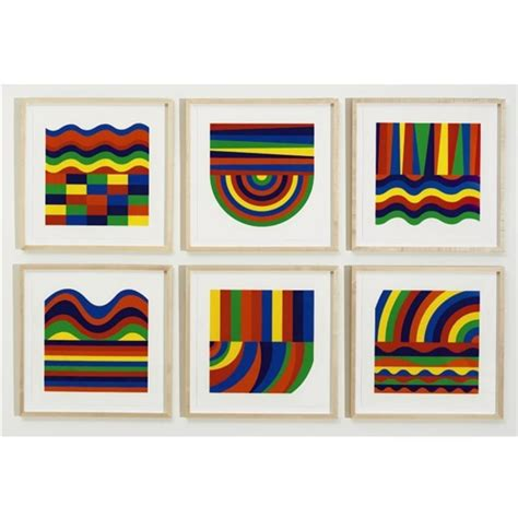 shapes and colors band arcs and bands in colors 1999 sol lewitt wikiart org
