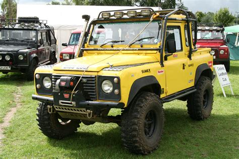 land rover defender 90 yellow defender 90 pics rccrawler