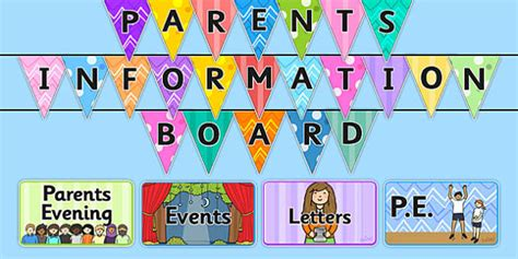 parent notice board pack notice board notice board for