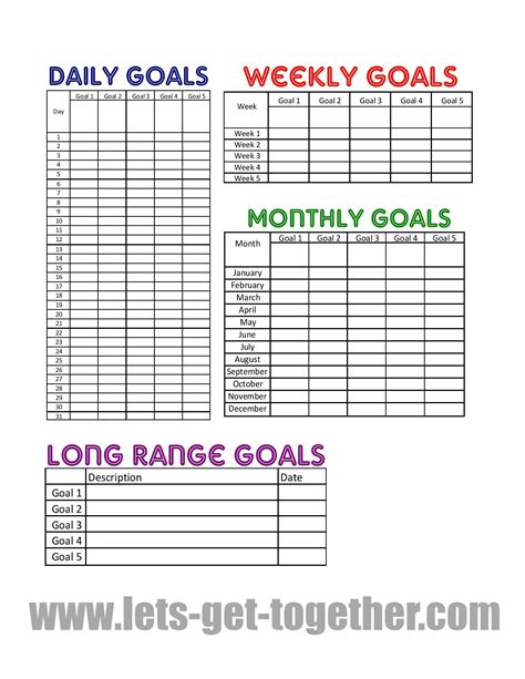 New Year Goal Setting Tips {FREE PRINTABLE}