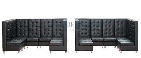 leather banquette seating modern line furniture commercial furniture custom made furniture seating