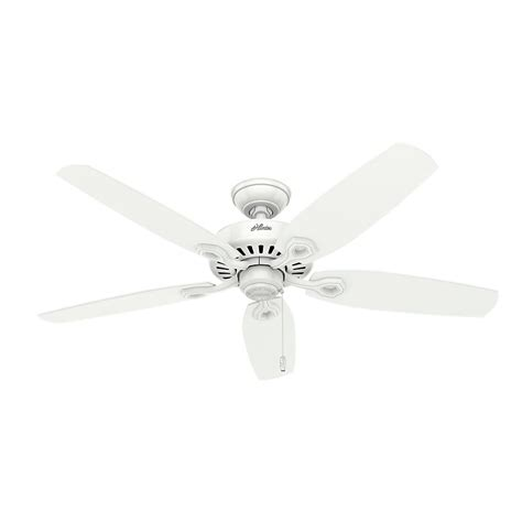 builder elite ceiling fan builder elite 52 in indoor white ceiling fan 53240