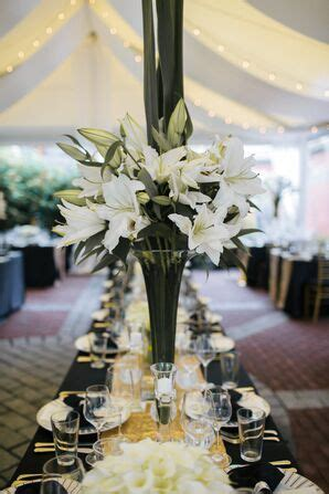 lily wedding decorations accents