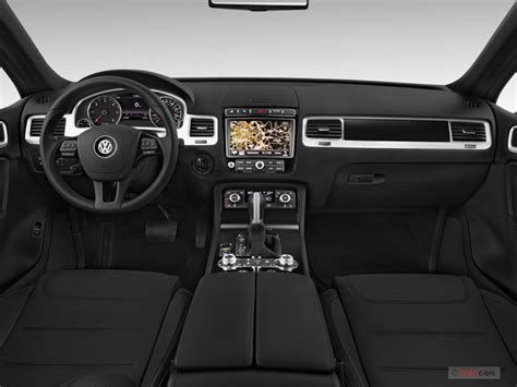 volkswagen touareg 2017 interior 2017 volkswagen touareg interior u s news world report