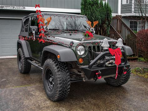 christmas jeep decorations the world s best photos of decorations and jeep flickr