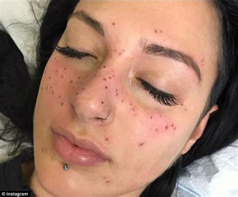star tattoo freckles people are getting star signs tattooed as freckles daily