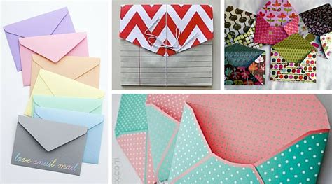 how to make an envelope from paper how to make paper envelopes the crafty blog stalker