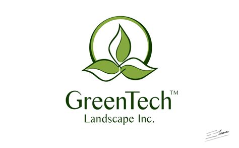 green corporate logos lawn and landscaping logos lanscape information