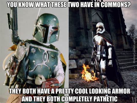 Jango Fett Meme - why cool looking armor characters in star wars have been
