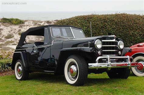 jeep jeepster 1950 willys jeepster overland conceptcarz