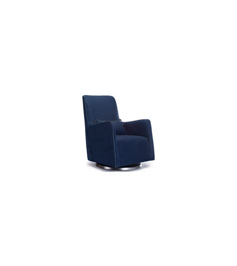 navy blue glider and ottoman monte design grazia swivel glider in navy blue