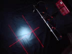 laser alignment targeting system platen light screen