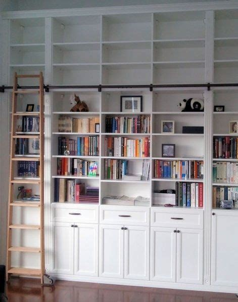 bookcase with sliding ladder 17 best ideas about library ladder on pinterest library