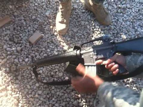 u.s army blank firing adapter youtube