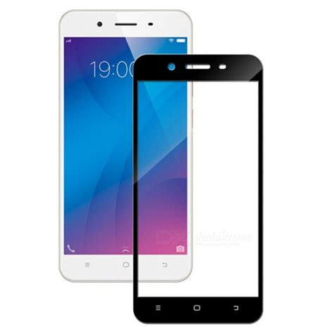 Anti Clear For Vivo V5 naxtop 2 5d screen coverage tempered glass protector