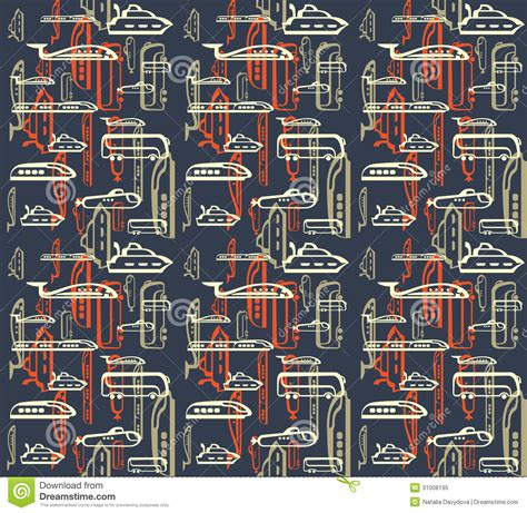 what does pattern in photography mean seamless pattern of traffic means of transportation