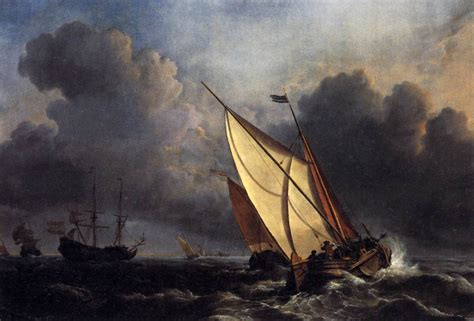 fishing ship in storm dutch fishing boats in a storm 1801 j m w turner
