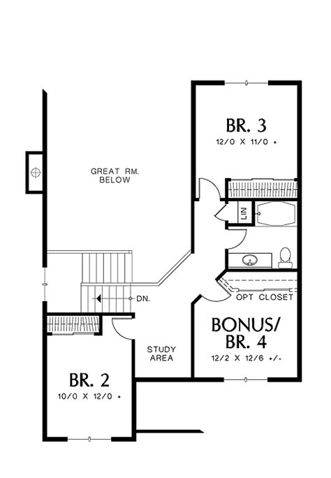 blandford homes floor plans blandford 5247 4 bedrooms and 2 baths the house designers