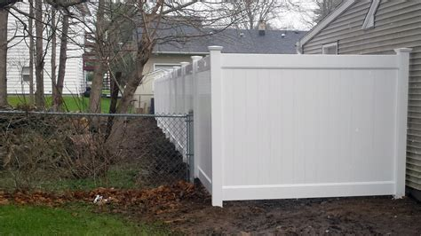 how to install a vinyl privacy fence how tos diy new vinyl fencing installation in ilion ny poly enterprises