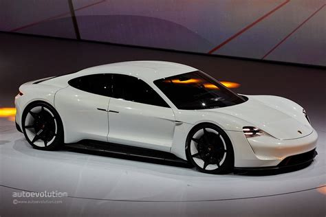 porsche mission e charging porsche mission e gets production green light coming by