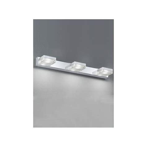 polished chrome 3 light bath wall fixture 24 quot ebay franklite 3 light led polished chrome bathroom wall