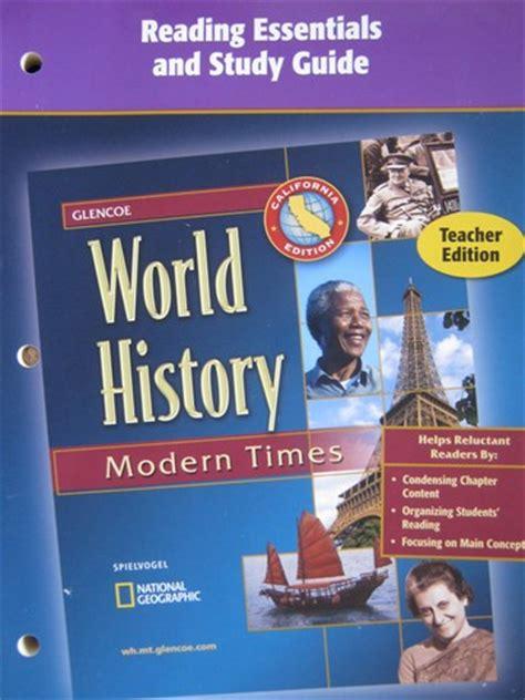 glencoe world history section quizzes world history modern times section quizzes ca p