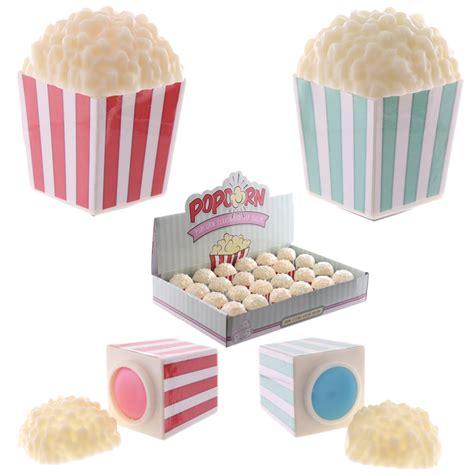 Food Balm lip balm in fast food popcorn tub holder 17097 puckator ltd