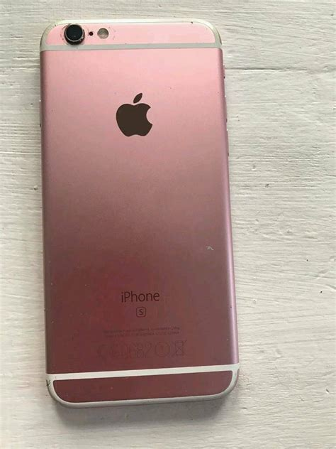 rose gold iphone  gb   open  swaps
