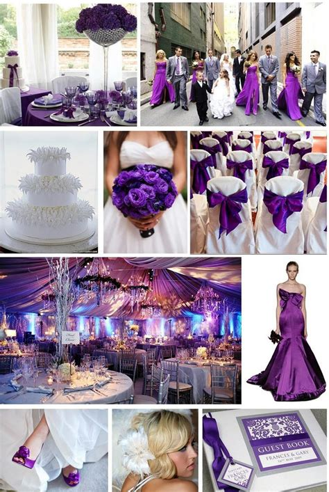 purple wedding a sophisticated and colour also said to be cleopatra s favourite