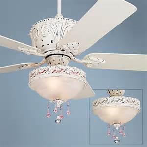 antique white ceiling fan with light kit casa antique white light kit ceiling fan 87534