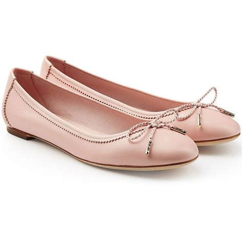 pink flat shoes salvatore ferragamo leather ballerinas 3 055 sek liked