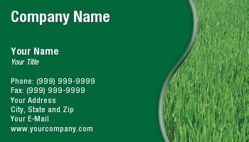 free lawn mowing business cards template business card template lawn care free choice image card