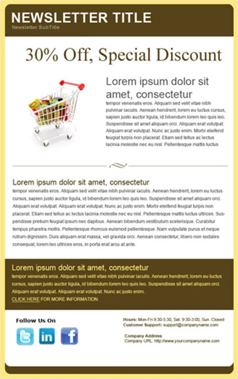 discount email template benchmark email email template special discount feature