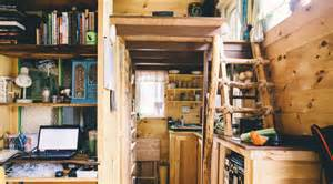 Out Of The Woods Cabinets Scaling Down One Couple Builds A Tiny House Tinyhouse