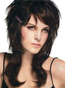crown layered shag haircut rock pasi 211 n y estilo cortes y peinados emo punk para chicas