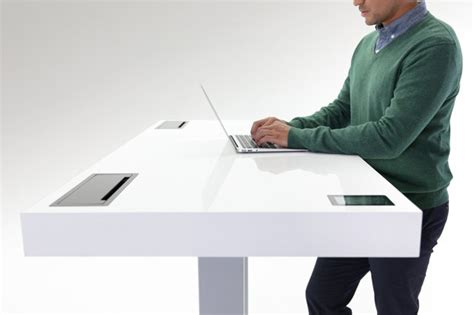How Should I Sit At Desk by This Desk Knows When You Should Stand Sit Or Just
