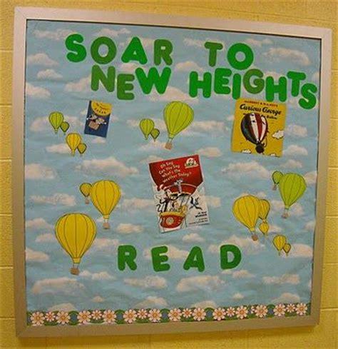 soar to new heights read bulletin board ideas