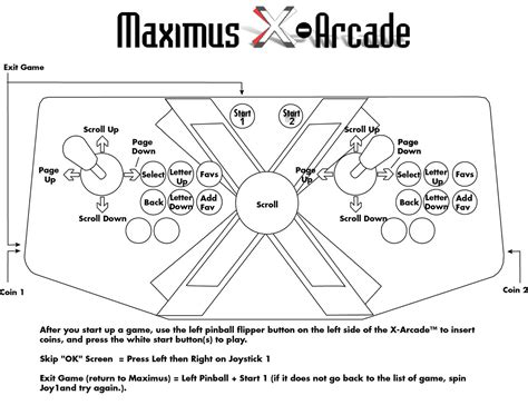 arcade cabinet plans tankstick x arcade machine setup guide manual and support xgaming