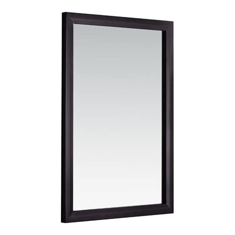 bath vanity mirror in espresso brown nl m 3a